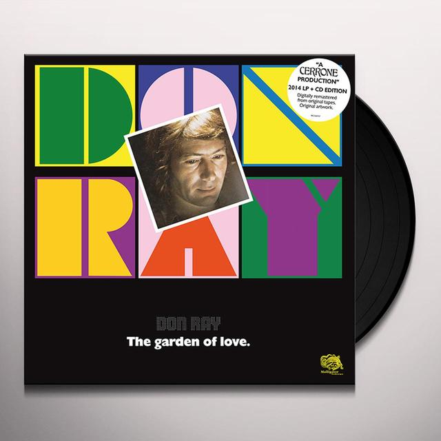 Don Ray GARDEN OF LOVE Vinyl Record - w/CD