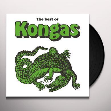 BEST OF KONGAS Vinyl Record - w/CD