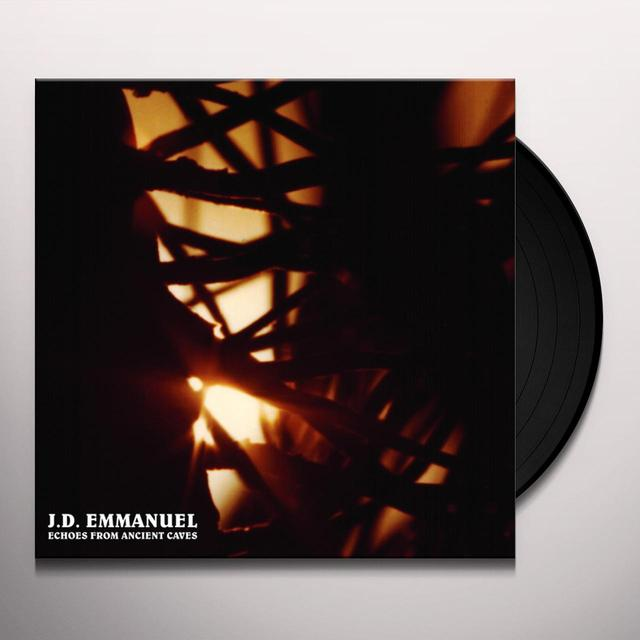 J.D. Emmanuel ECHOES FROM ANCIENT CAVES Vinyl Record