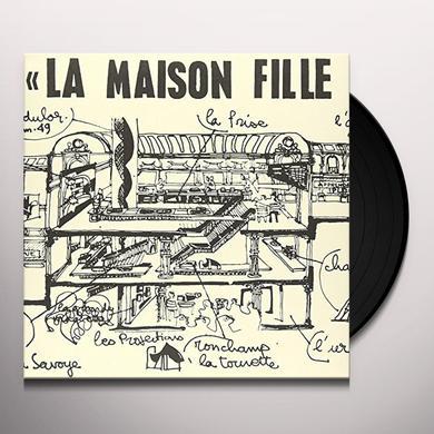 Francois Tusques / Don Cherry LA MAISON FILLE DU SOLEIL Vinyl Record