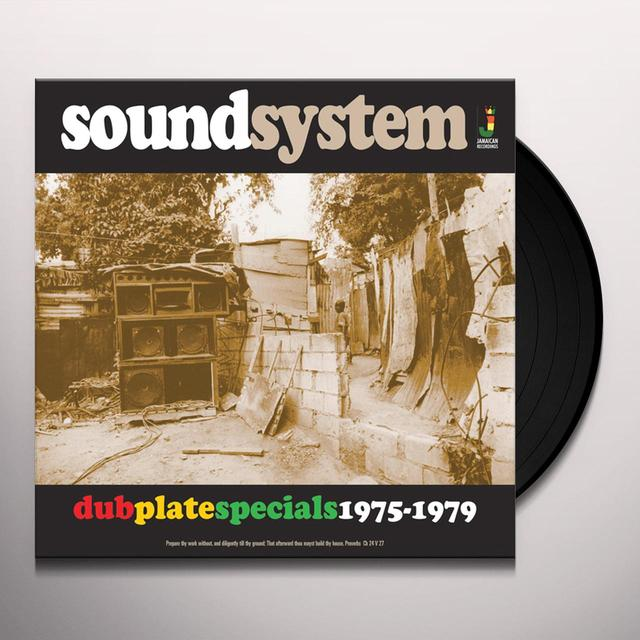 SOUNDSYSTEM DUB PLATE SPECIALS 1975-79 / VARIOUS Vinyl Record