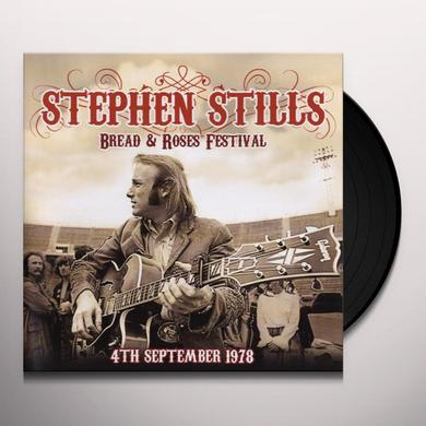 Stephen Stills BREAD & ROSES FESTIVAL 4TH SEPTEMBER 1978 Vinyl Record