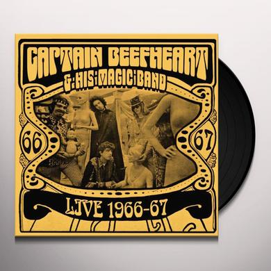 Captain Beefheart LIVE 1966-67 Vinyl Record