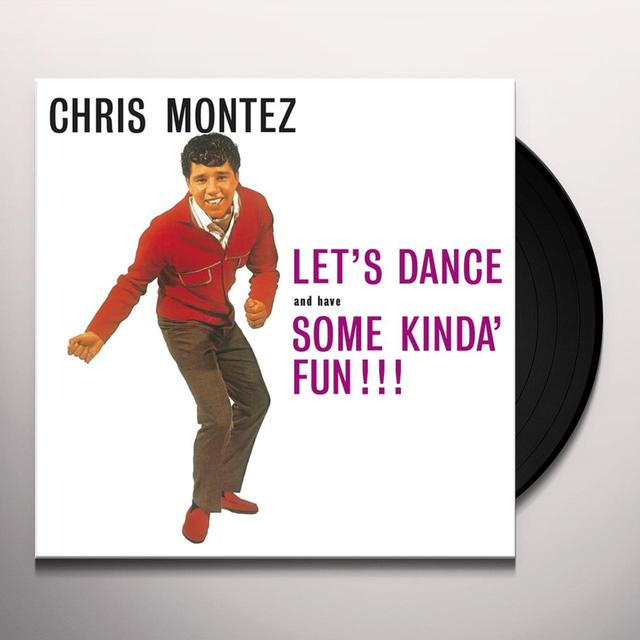 Chris Montez LETS DANCE Vinyl Record