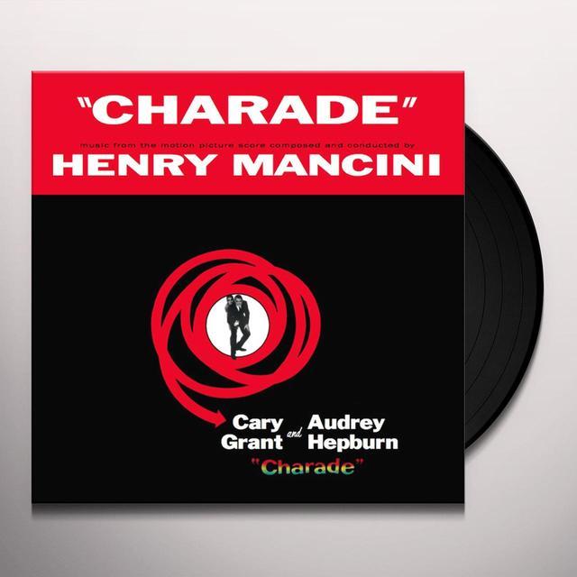 Henry Mancini CHARADE / O.S.T. Vinyl Record