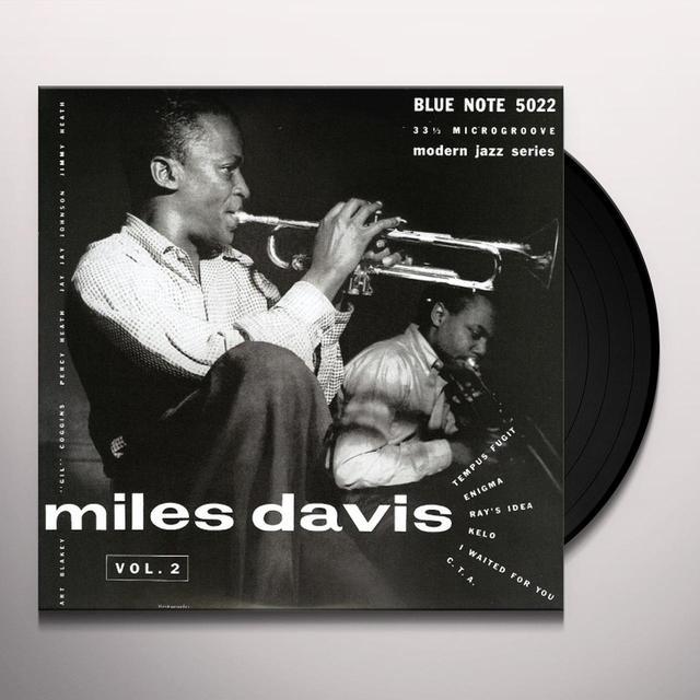 Miles Davis VOL 2 Vinyl Record
