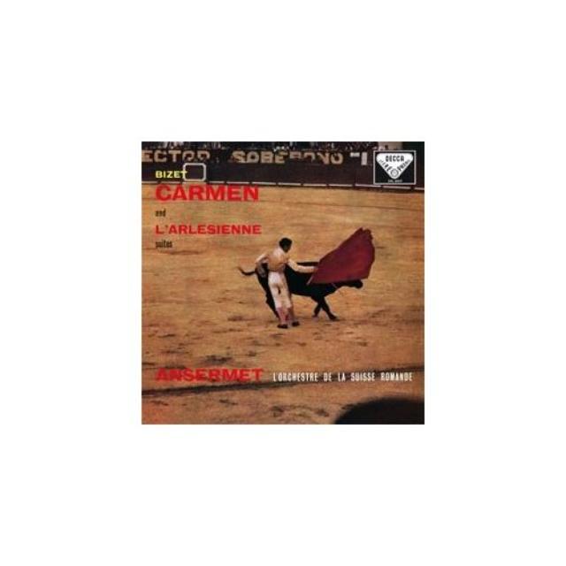 G Bizet CARMEN & L'ARLESIENNE SUITES Vinyl Record