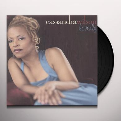 Cassandra Wilson LOVERLY Vinyl Record - Holland Import
