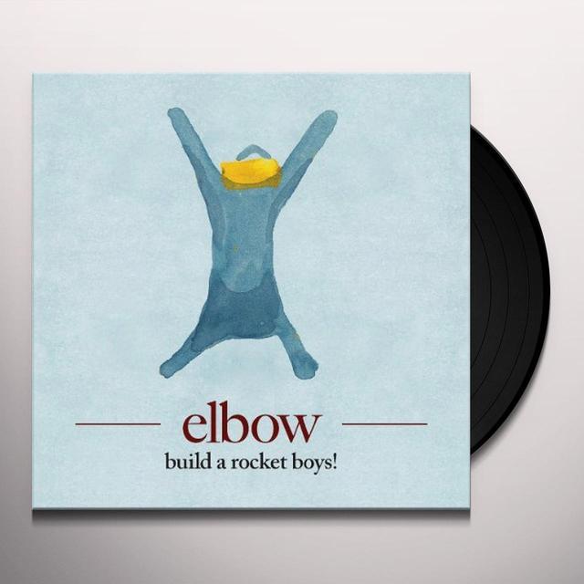 Elbow BUILD A ROCKET BOYS! Vinyl Record - UK Import