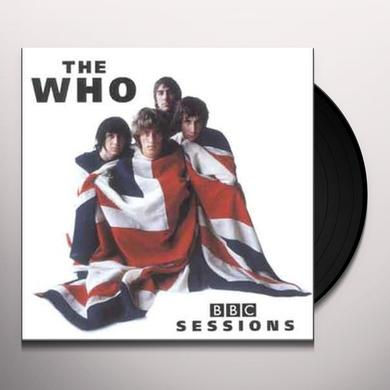 The Who BBC SESSIONS Vinyl Record
