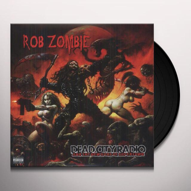 Rob Zombie DEAD CITY RADIO & THE NEW GODS OF SUPERTOWN/TEENAG Vinyl Record
