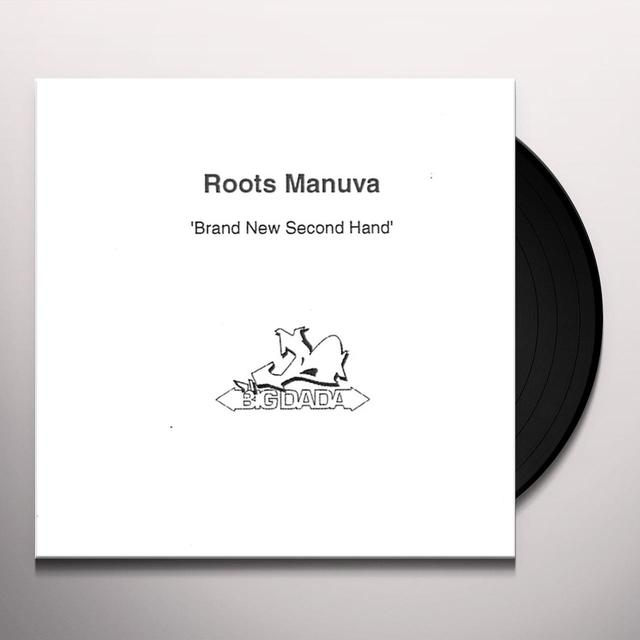 Roots Manuva BRAND NEW SECOND HAND Vinyl Record - UK Import
