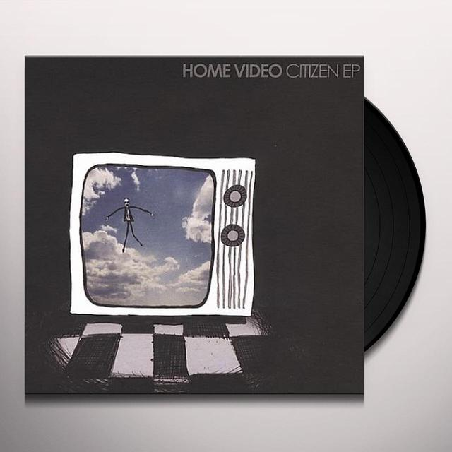 Home Video CITIZEN EP Vinyl Record - UK Release