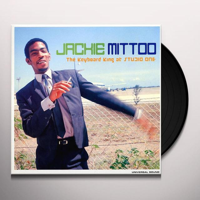 Jackie Mittoo KEYBOARD KING AT STUDIO ONE Vinyl Record - UK Release