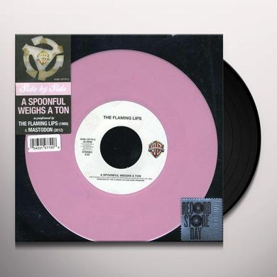 FLAMING LIPS/MASTODON SPOONFUL WEIGHS A TON (GER) Vinyl Record