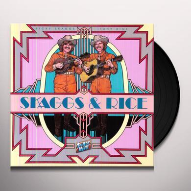 Ricky Skaggs & Tony Rice SKAGGS & RICE Vinyl Record
