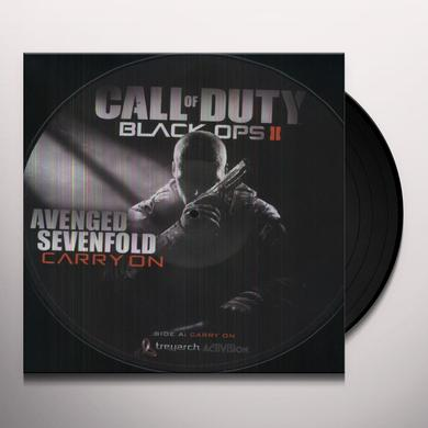 Avenged Sevenfold CARRY ON Vinyl Record