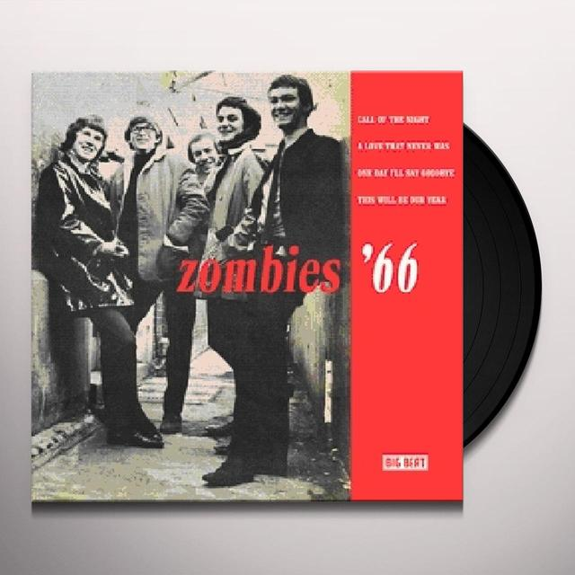 ZOMBIES '66 Vinyl Record - UK Import