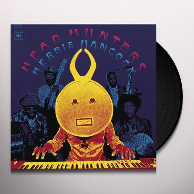 Herbie Hancock HEAD HUNTERS Vinyl Record - Holland Import