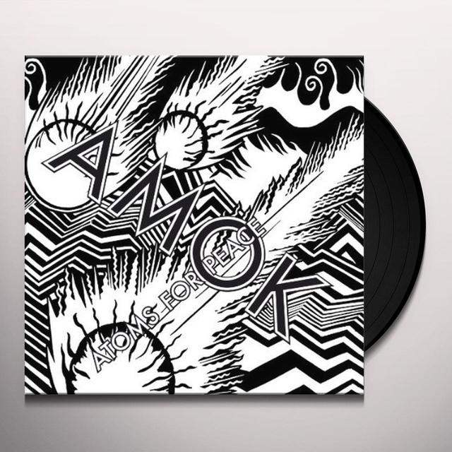 Atoms For Peace AMOK-LIMITED DELUXE EDITION (LP) Vinyl Record - UK Import