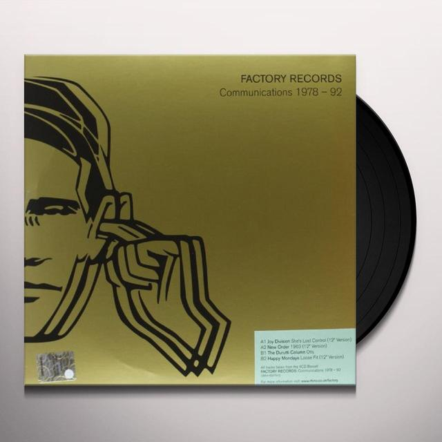 FACTORY RECORDS COMMUNICATIONS 1978-82 / VARIOUS Vinyl Record