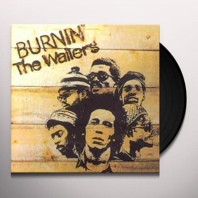 Bob Marley BURNIN' Vinyl Record - UK Import