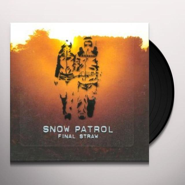 Snow Patrol FINAL STRAW Vinyl Record