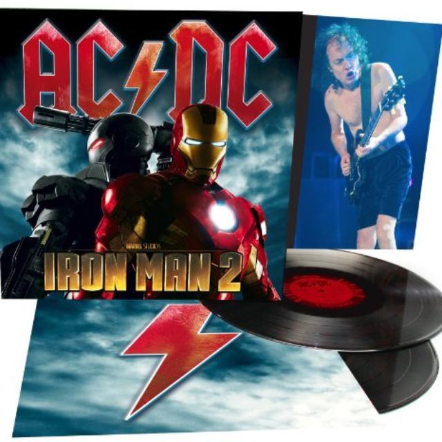 AC/DC IRON MAN 2 Vinyl Record