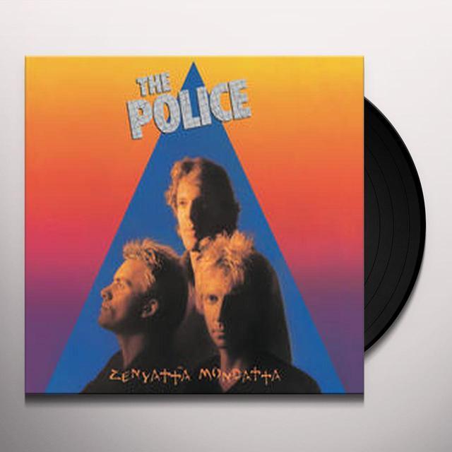 Police ZENYATTA MONDATTA Vinyl Record - UK Import