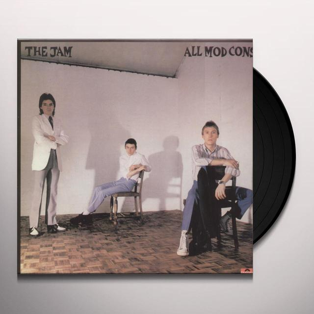 The Jam ALL MOD CONS Vinyl Record - UK Import
