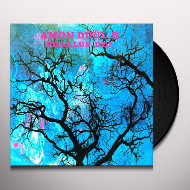Amon Düül II PHALLUS DEI Vinyl Record - UK Release