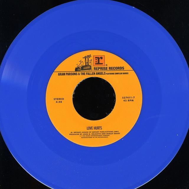 JENNY & JOHNNY/GRAM PARSONS & THE FALLEN ANGELS FE LOVE HURTS (LIGHT BLUE VINYL) (GER) Vinyl Record