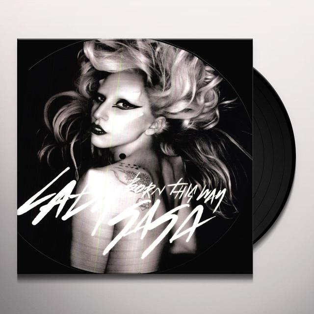 Lady Gaga BORN THIS WAY Vinyl Record - Holland Import