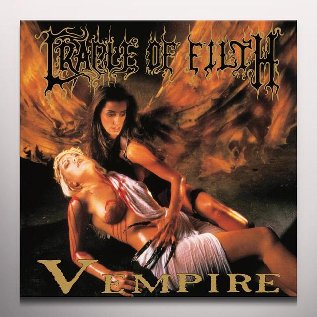 Cradle Of Filth V EMPIRE OR DARK FAERYTALES IN PHALLUSTEIN Vinyl Record - Colored Vinyl