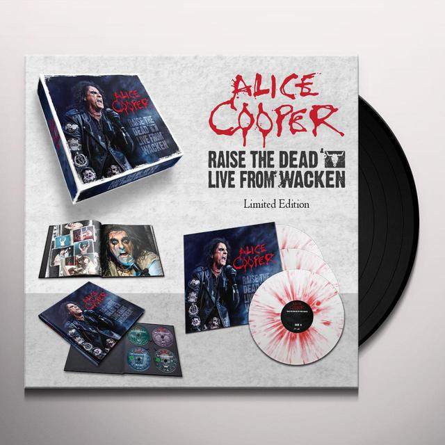 Alice Cooper RAISE THE DEAD: LIVE FROM WACKEN (W/CD) (W/DVD) (Vinyl)