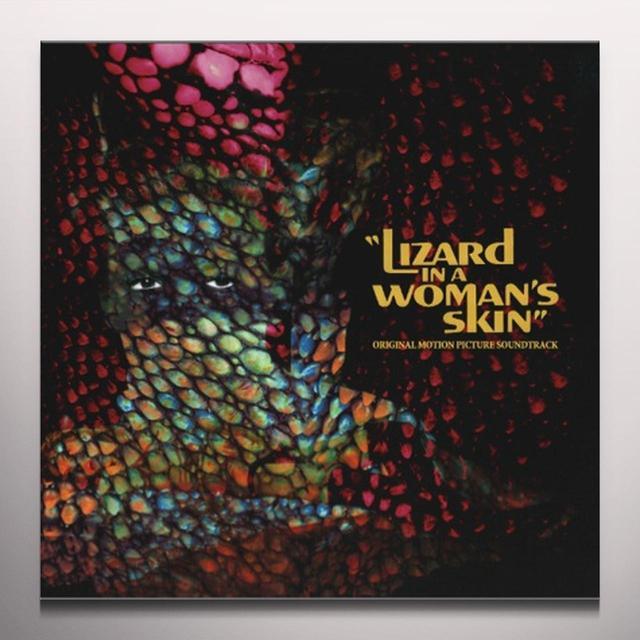Ennio Morricone LIZARD IN A WOMANS SKIN / O.S.T. Vinyl Record - Blue Vinyl, 180 Gram Pressing