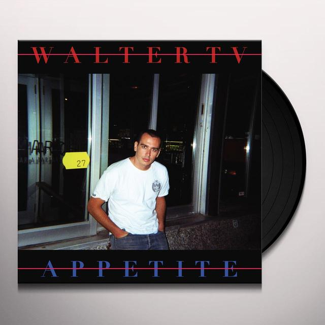WALTER TV APPETITE Vinyl Record - Digital Download Included
