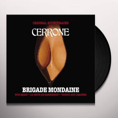 CERRONE (W/CD) BRIGADE MONDAINE / O.S.T. Vinyl Record - w/CD
