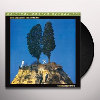 Elvis Costello & The Attractions GOODBYE CRUEL WORLD Vinyl Record