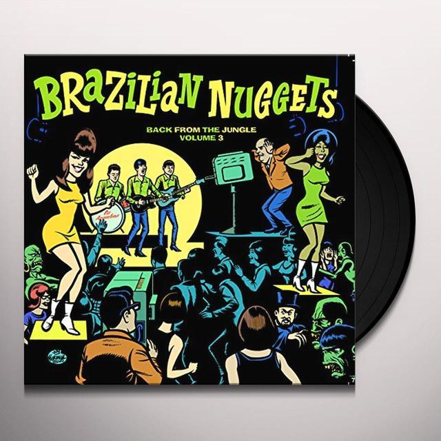 BRAZILIAN NUGGETS 3 / VARIOUS Vinyl Record - Italy Import