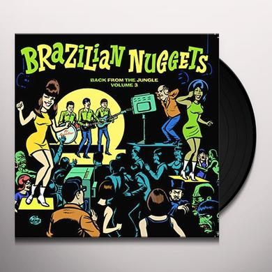 BRAZILIAN NUGGETS 3 / VARIOUS Vinyl Record - Italy Import