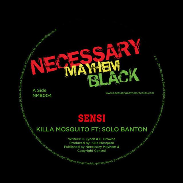 KILLA MOSQUITO SENSI / BRICK LANE (UK) (Vinyl)