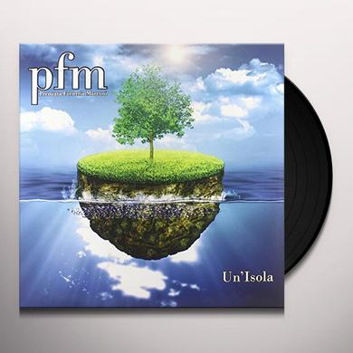 Pfm UN'ISOLA Vinyl Record - Italy Import