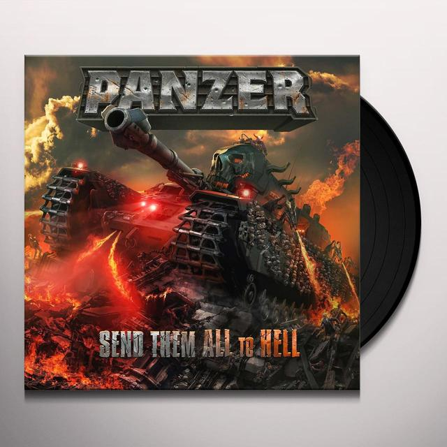 GERMAN PANZER SEND THEM ALL TO HELL (UK) (Vinyl)