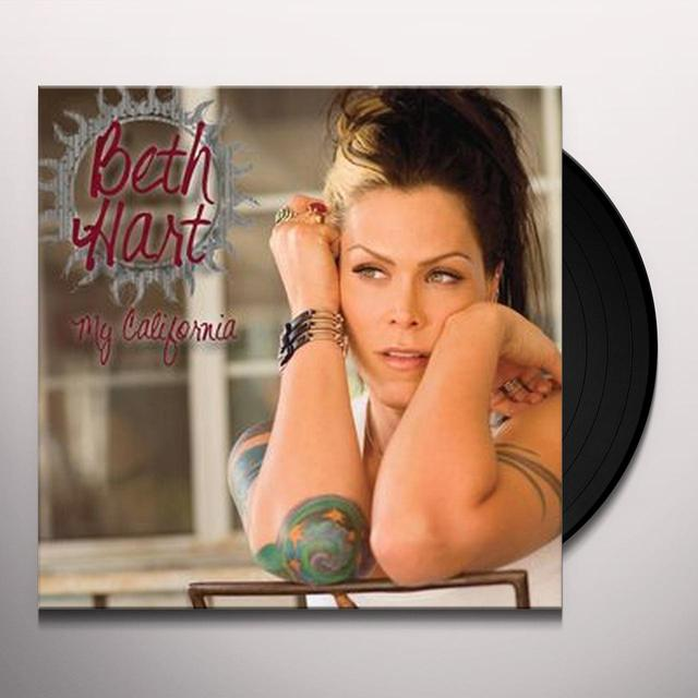 Beth Hart MY CALIFORNIA Vinyl Record - UK Release