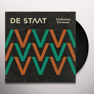 De Staat VINTICIOUS VERSIONS Vinyl Record - UK Import