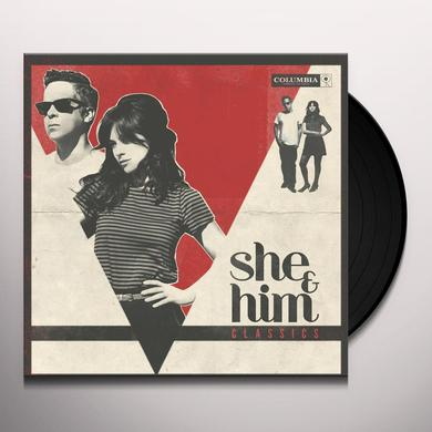 She & Him CLASSICS Vinyl Record - Digital Download Included