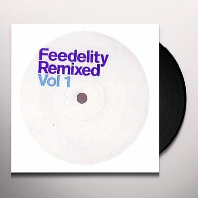 Lindstrøm FEEDELITY REMIXED 1 Vinyl Record