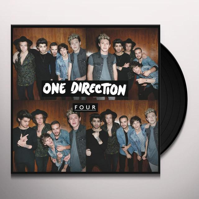 One Direction FOUR Vinyl Record - Gatefold Sleeve