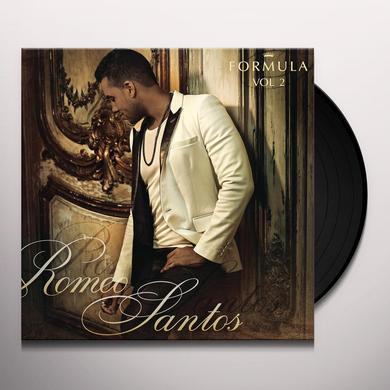 Romeo Santos FORMULA 2 Vinyl Record